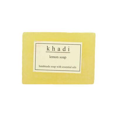 KHADI HERBAL LEMON SOAP SET OF 3 125 GMS EACH