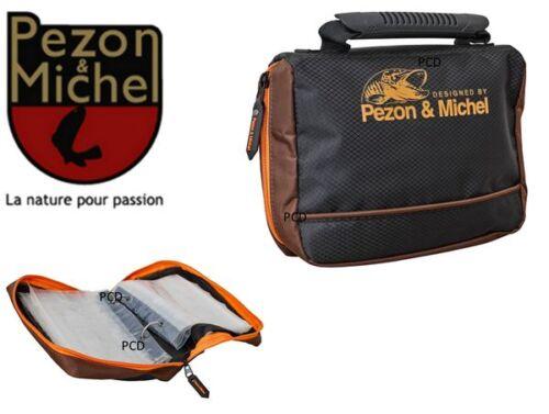Pezon /& Michel Soft Bag Pike Addict Vorfachtasche Angeltasche Zubehörtasche