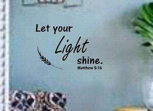 Image Is Loading Matthew 5 16 BIBLE VERSE Quote 034 Let