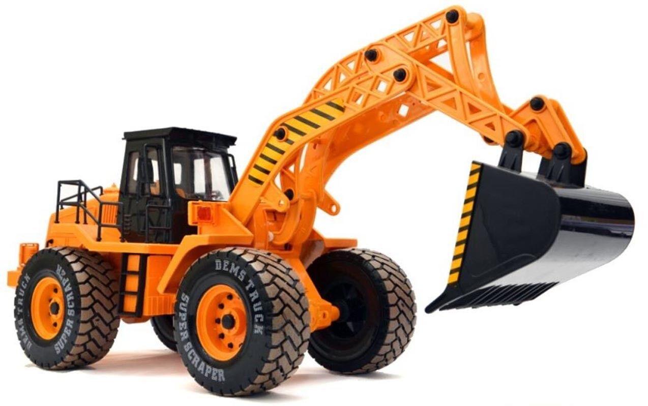RC Baufahrzeug, Bagger, 3 Kanal, Maßstab 1 10, mit mit mit Akku 068-2 7bab42