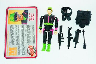 GI Joe 1991 Battle corps Big bear Complete Good joints mint Vintage Original