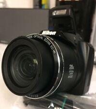 "Nikon Coolpix L340 Digital Camera, 20.2MP, 28x Optical Zoom, 3.0"" LCD (Black)"