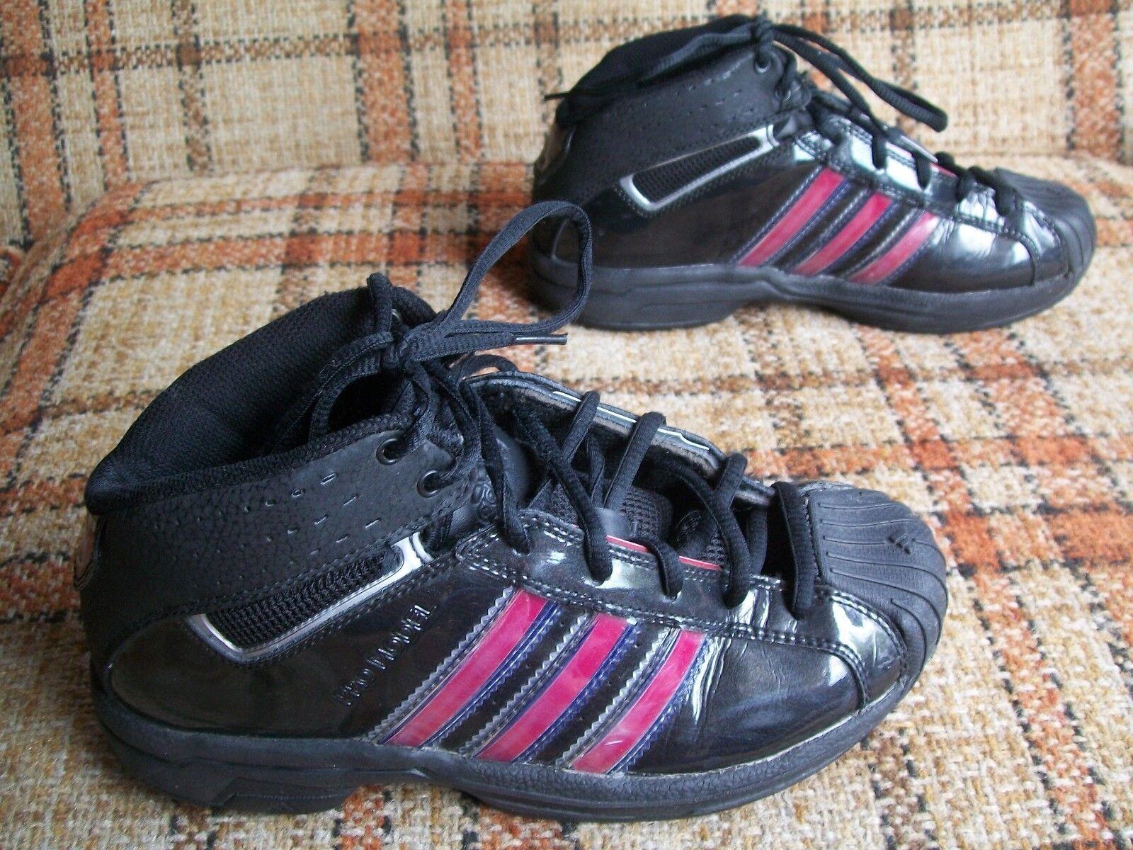 Adidas Model Mens Size 5 (FR 37 1/3) Pro Model Adidas Black/Red Basketball Hightops 043694 1c7b95
