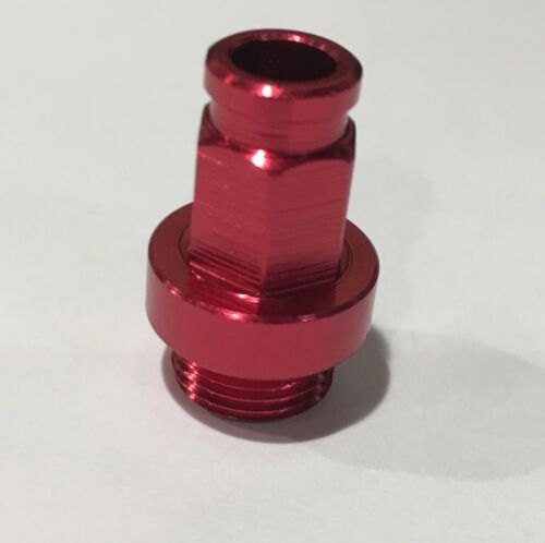 Keihin FCR Carb Billet Hot Start Nut KX 450 2006-2008 RED MADE IN USA Cable