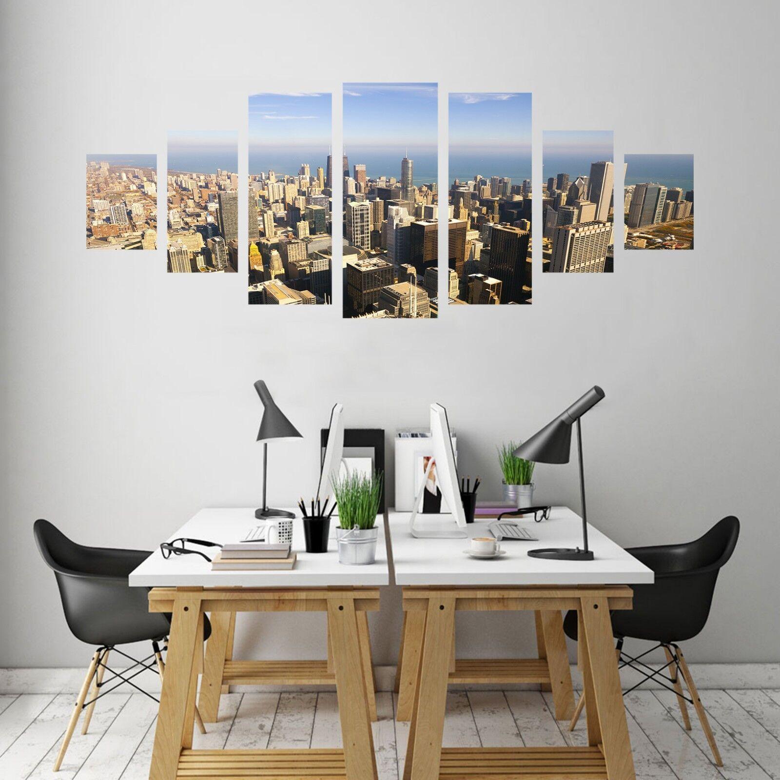 3D Building Tall Sky 126 Unframed Print Wall Paper Deco Indoor AJ Summer