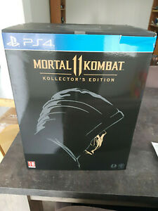 Ps4 Mortal Kombat 11 Collectors Edition Limited With Scorpion Mask