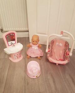 Baby Born Bundle Avec Poupée-afficher Le Titre D'origine Magasin En Ligne