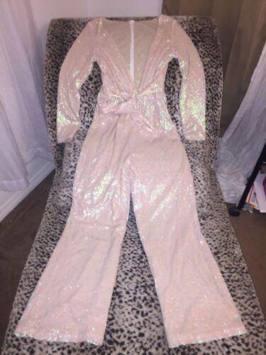 Ofk Balmain m Made S Pearl Die Jumpsuit Celebrity 2 Vlv 4 Opalescent Custom gz0xwqW47