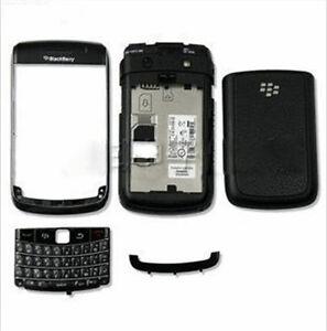 Housing Cover fascia facia faceplate for Blackberry Bold 9780 w/ keypad black