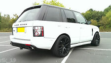 Range Rover Vogue L322 2002-2013 Models Meduza RS Rear Bumper Bumper Body kit