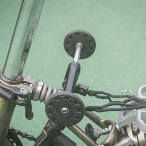 Easy Wheels Extender for BROMPTON Folding Bicycle BLACK Eazy Wheels