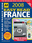 Easy Read France: 2008 by AA Publishing (Paperback, 2007)