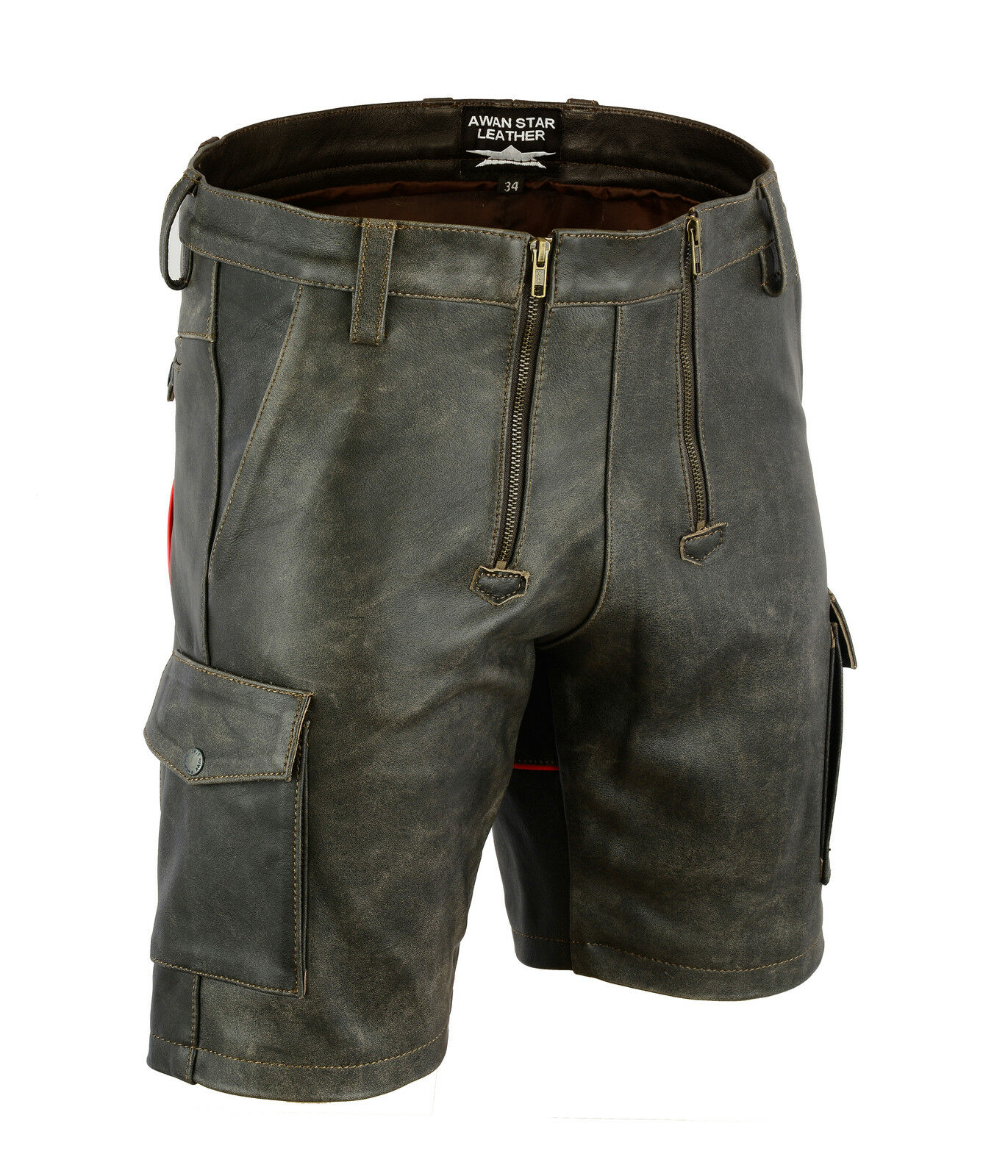 Aw7525 PELLE VINTAGE carpentiere Shorts,Pantaloncini Shorts,Pantaloncini Shorts,Pantaloncini MILITARI,Zimmermann bc471f