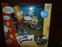 Radio Control Skateboarding Bart Simpsons With Talking Krusty Controller