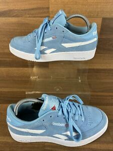 Reebok-Classic-Club-C-Vengeance-plus-Baskets-Sneakers-Bleu-Blanc-Homme-7-uk
