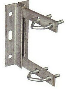 TV-Aerial-Mounting-Bracket-6x6-Strong-Welded-Construction-Galvanised-U-Bolts