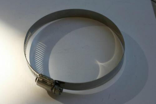 Lot de 3 colliers type SERFLEX tout INOX Ø 130 à 152 mm neufs