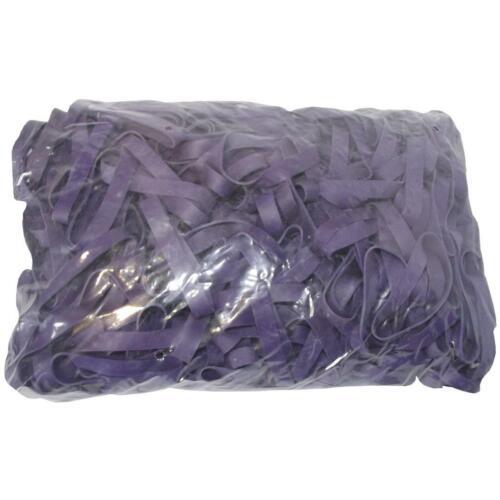 1 kg Gummiringe lila 50 mm Ø 1,2 x 10 mm breit Haushaltsgummis Gummibänder