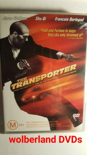1 of 1 - The Transporter [ DVD ] BRAND NEW & SEALED, Region 4, FREE Next Day Post