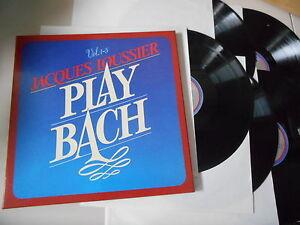 LP-Jazz-Jacques-Loussier-Play-Bach-Vol-1-5-5-LP-Box-Song-LONDON-Reissue
