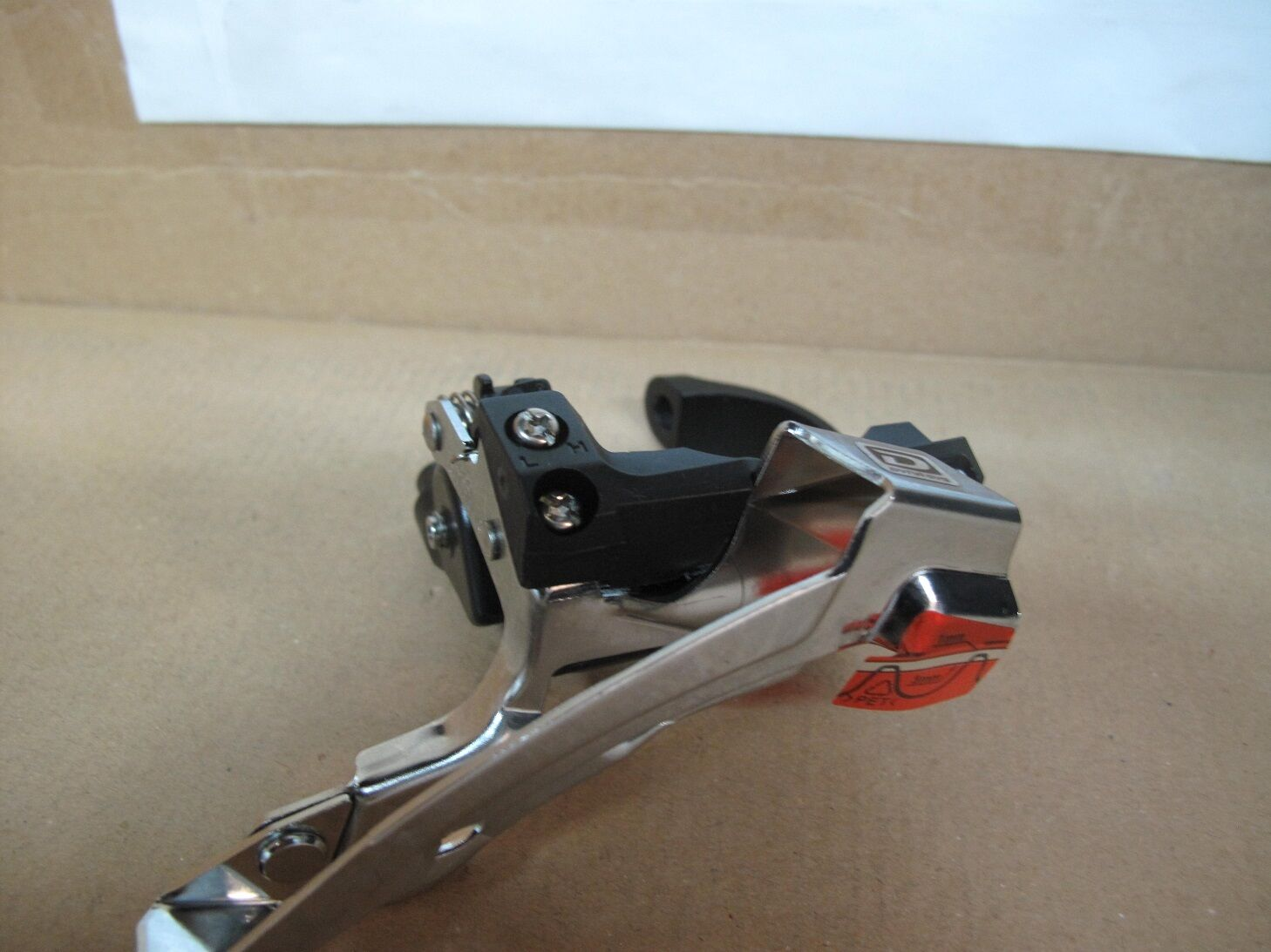 SHIMANO XT Cycling MTB front Derailleur FD-M770 10 Spd Top Swing Clamp Dyna Sis