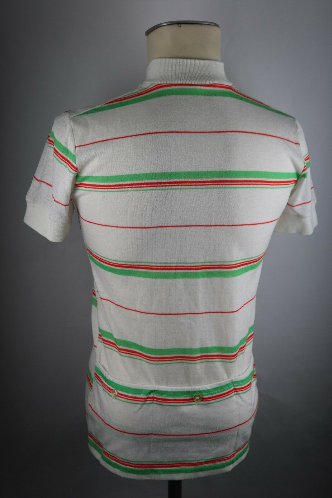 Le coq sportif Radtrikot 80er Gr. S 48cm LS cycling jersey LS 48cm Acrylic Shirt F6 068cea