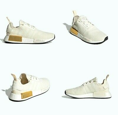 Adidas NMD R1 W Boost Off White / Gold