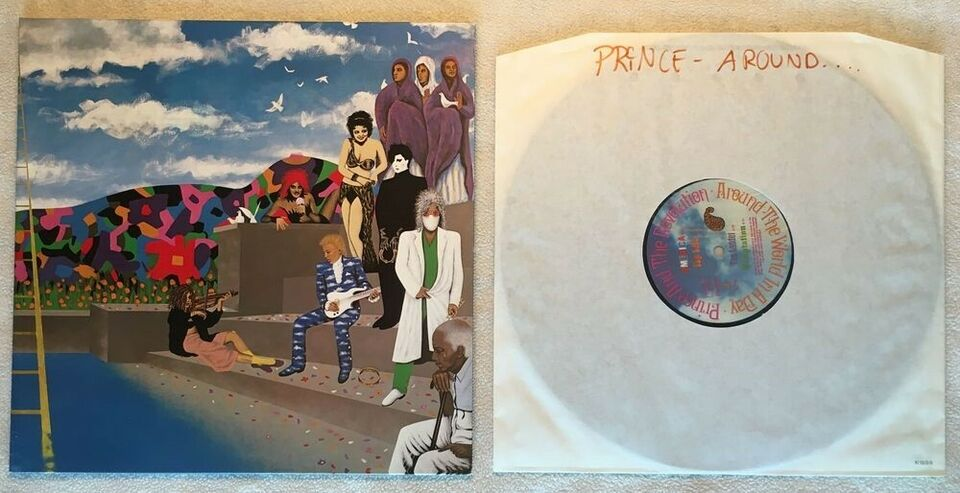 LP, Prince, Around the World in a Day