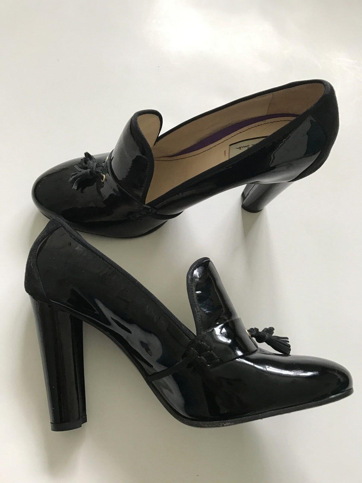 Descuento de liquidación PAUL SMITH Mujer Charol Zapatos negros de piel