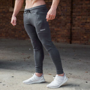 c01a2bc220 Image is loading New-Gyms-sweatpants-Men-fashion-Trousers-Jogger-Pants-