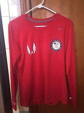Nike Team USA Olympic Track & Field Marathon Long Sleeve Shirt RARE Sz. M