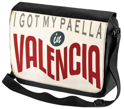 Mantos hombro Bolso viajes cocina Valencia España impreso