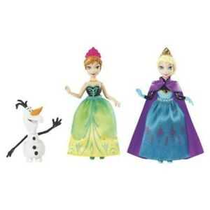 Disney-Frozen-Sisters-Giftset-Very-Small-Figures-3-3-4-034-Princesses-Mattel-3