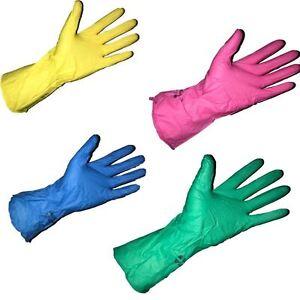 Sicherheit & Gebäudeinstandhaltung Marigold Puretough P12P Pink Super Light Weight Household Rubber Gloves M L XL