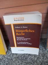 Bürgerliches Recht, von Gisbert A. Kaiser, aus dem C. F. Müller Verlag