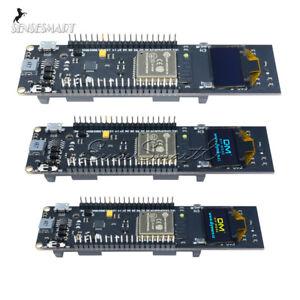 ESP32-18650-Battery-CP2102-WiFi-Bluetooth-0-96-inch-OLED-Development-Board