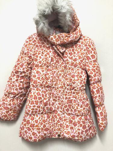 Lilica ripilica CASACO Ragazze Motivo Leopardato Invernale Foderato Cappotto