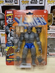 X-Men-Marvel-Legends-Series-6-Inch-Retro-Gray-Beast-Action-Figure