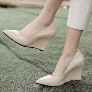Womens Pointed toe Patent Leather High