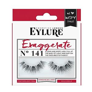 5e43ca67911 Image is loading Eylure-Strip-False-Lashes-Exaggerate-Number-141