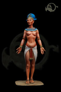 Pharaoh-of-the-XVIII-Dynasty-75mm-Figur-El-Viejo-Dragon-Miniaturas-AS75-06
