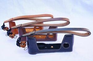 PU Leather Camera Bag Case Half Body Set Cover For Fujifilm X-Pro2 xpro2 xpro 2