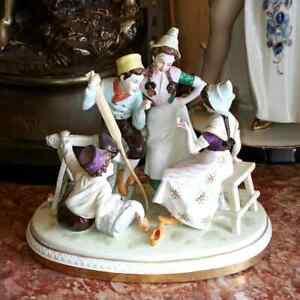 Antique-German-Scheibe-Alsbach-Porcelain-Grouping