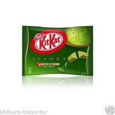 Nestle : Japanische KitKat Mini Matcha Grüntee 12 packs Schokolade
