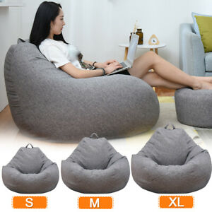 Details About S Kids Children Large Bean Bag Chair Sofa Couch Cover Indoor Lazy Lounger