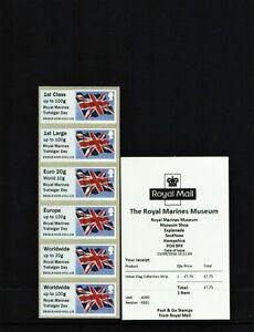 RMM ROYAL MARINES Trafalgar Day FLAG COLL STRIP B9GB16 Post Go 0001 session