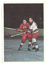 DOUG HARVEY 1963-64 Toronto Star '63 Hockey Stars In Action New York Rangers VG