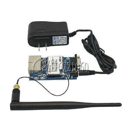 HLK-RM04 Embedded UART-ETH-WIFI Router Development Kit w/Antenna TOP