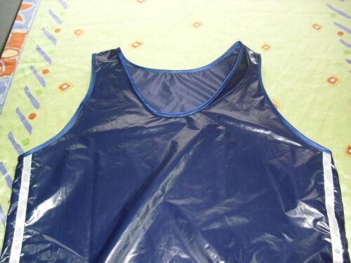 Glanz nylon Fitnessshirt Shiny glossy,Wet Look Gr.S-2XL NEU Lack Retro running