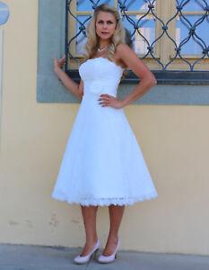 Brautkleid Spitze Tee Lange Hochzeitskleid 34 48 Braut Kleid